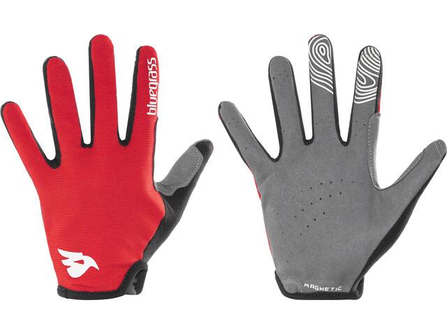 bluegrass Magnete Lite Gloves red/white